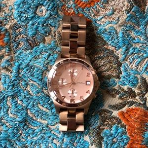 Marc Jacobs Rose Gold Lightly Used Watch